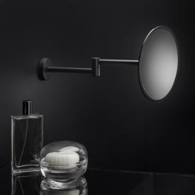Cosmic Black & White Wand-Kosmetikspiegel schwarz matt