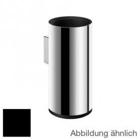 Cosmic Inox/Logic Zahnputzbecher edelstahl poliert/schwarz