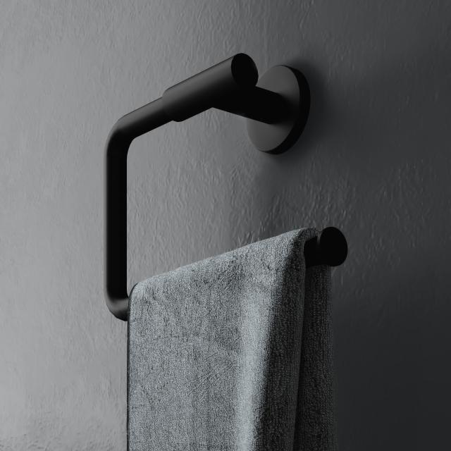 Cosmic Architect S+ Handtuchring schwarz matt