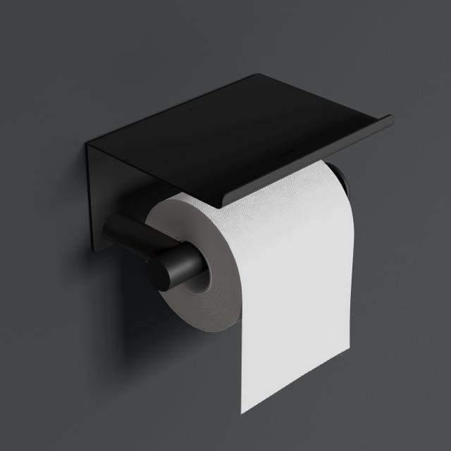 Cosmic Architect S+ Papierrollenhalter mit Deckel schwarz matt