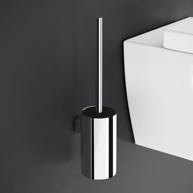 Cosmic Architect S+ Toilettenbürstengarnitur, Wandmontage chrom
