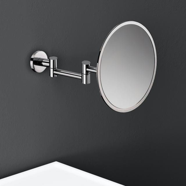Cosmic Architect S+ Wand-Kosmetikspiegel, mit 5-fach Vergrößerung chrom