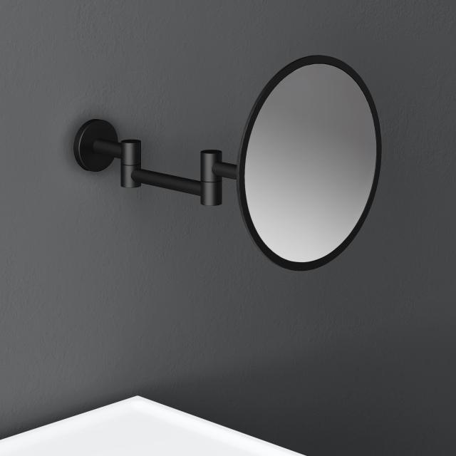 Cosmic Architect S+ Wand-Kosmetikspiegel, mit 5-fach Vergrößerung schwarz matt