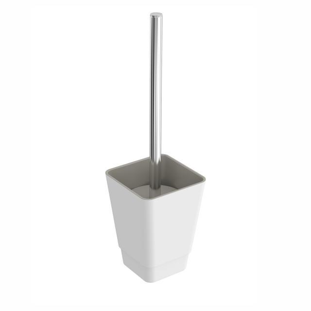 Cosmic b-smart Toilettenbürstenhalter weiß/grau