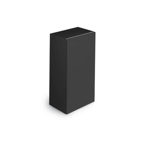 Cosmic Block Schrank schwarz glänzend