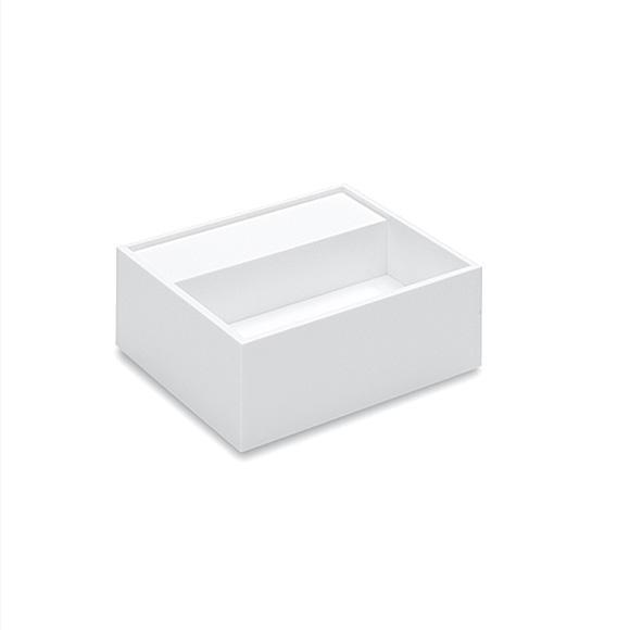 Cosmic Compact Waschbecken weiß, ohne Hahnloch