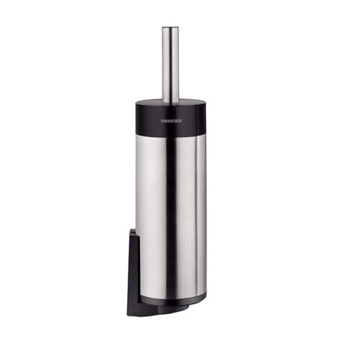 Cosmic BI/Logic/Inox Toilettenbürstengarnitur edelstahl glänzend/schwarz