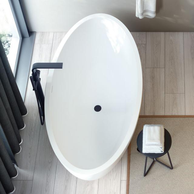 Cosmic Mood Freistehende Oval-Badewanne