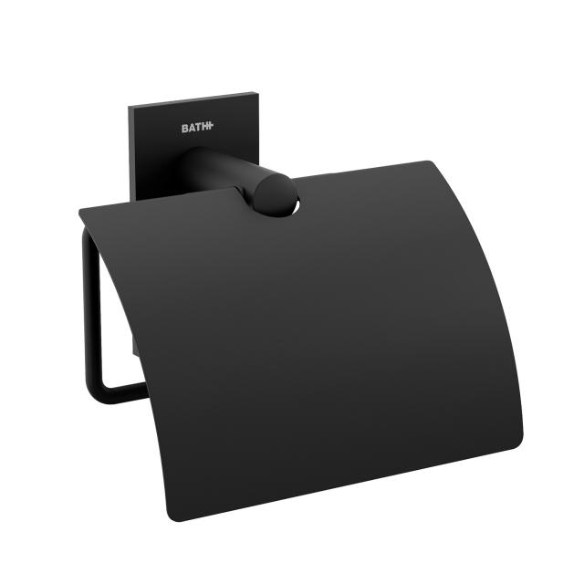 Cosmic Stick Rollenhalter mit Deckel schwarz matt