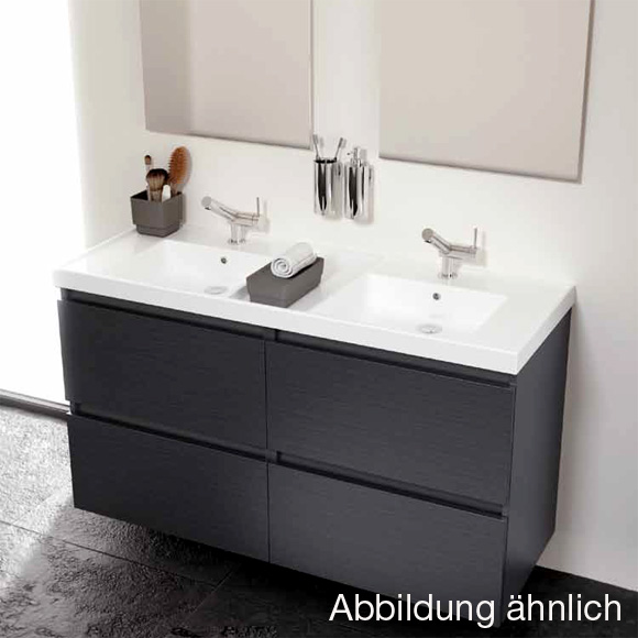 cosmic b box doppel waschtisch mit unterschrank mit 4 schubladen esche b05031201159 reuter. Black Bedroom Furniture Sets. Home Design Ideas