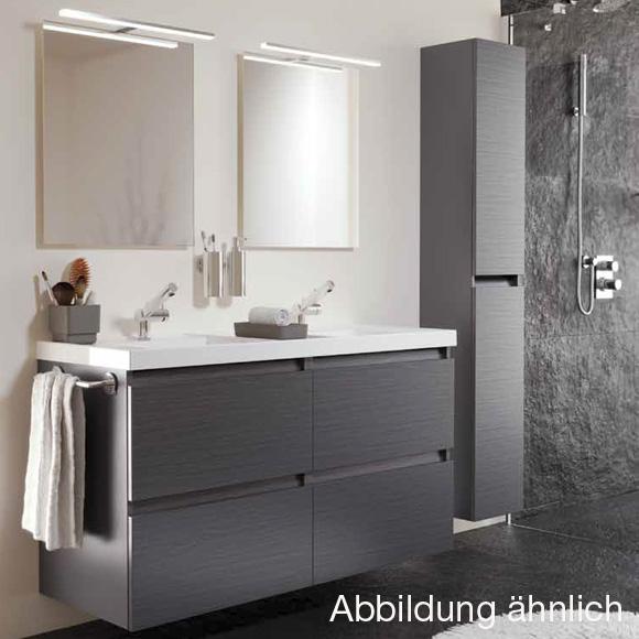 cosmic b box doppel waschtisch mit unterschrank mit 4 schubladen esche b05031201159 reuter. Black Bedroom Furniture Sets. Home Design Ideas