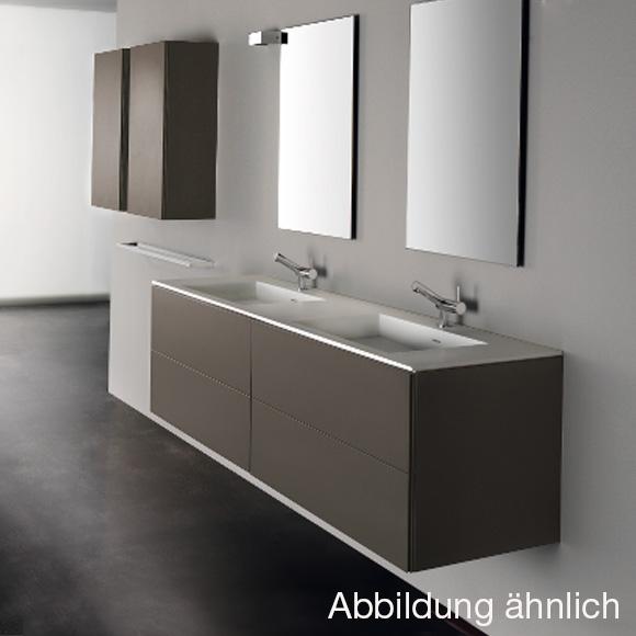Doppelwaschbecken Mit Unterschrank cosmic block waschtisch mit waschtischunterschrank mit 4 auszü