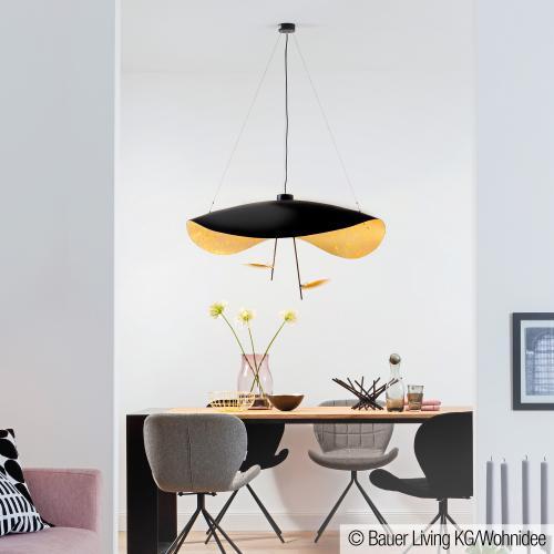 catellani smith lederam manta s2 led pendelleuchte ls23 reuter. Black Bedroom Furniture Sets. Home Design Ideas