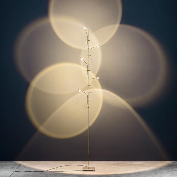 Catellani & Smith Wa Wa F LED Stehleuchte mit Dimmer