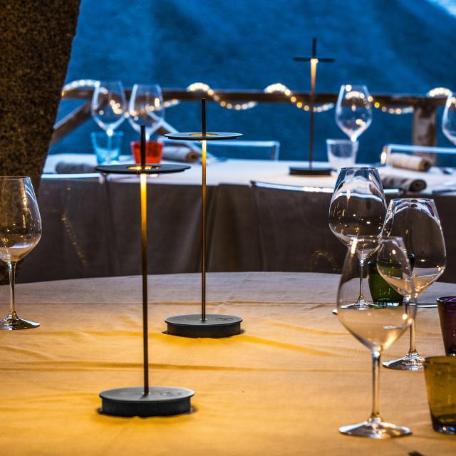 Catellani & Smith Giulietta BE T USB LED Tischleuchte mit Dimmer