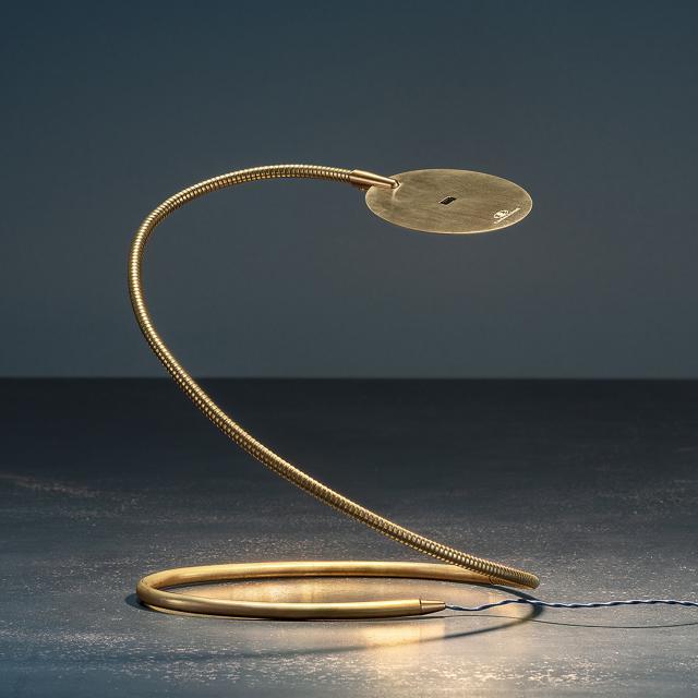 Catellani & Smith Herem T USB LED Tischleuchte mit Dimmer