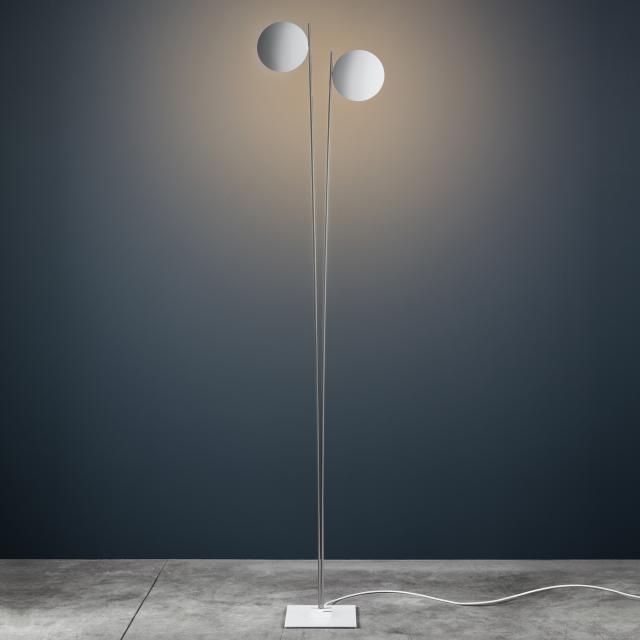 Catellani & Smith Lederam F2 LED Stehleuchte mit Dimmer