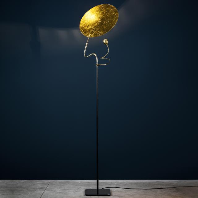 Catellani & Smith Luce d`Oro F Stehleuchte mit Dimmer