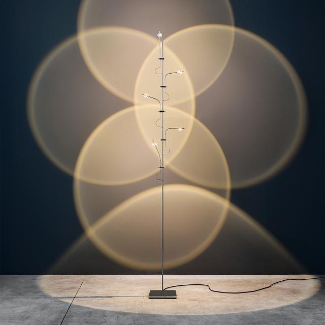 Catellani & Smith WA WA F Flex LED Stehleuchte mit Dimmer