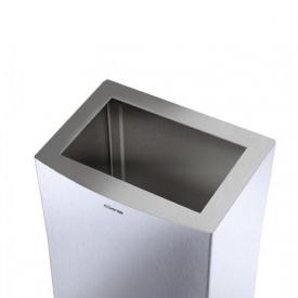 CWS ParadiseLine StainlessSteel Einwurf-Rahmen zu Papierkorb 25 l