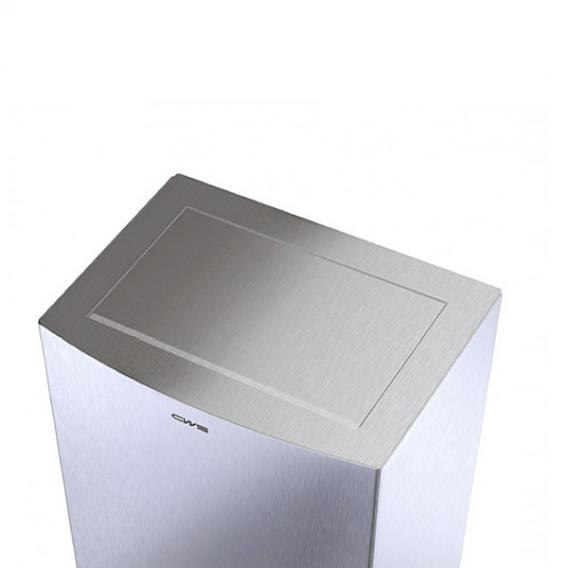 CWS ParadiseLine StainlessSteel Deckel zu Papierkorb 25 l