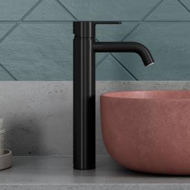 Damixa Silhouet Einhebel-Waschtischarmatur large, ohne Ablaufgarnitur schwarz matt