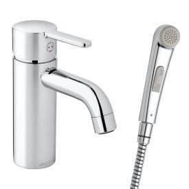 Damixa Silhouet Einhebel-Waschtischarmatur small mit Handbrause, ohne Ablaufgarnitur