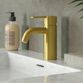 Damixa Silhouet Einhebel-Waschtischarmatur small ohne Ablaufgarnitur, messing gebürstet