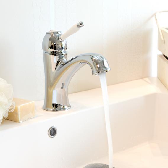 Damixa Tradition Einhebel-Waschtischarmatur ohne Ablaufgarnitur, chrom