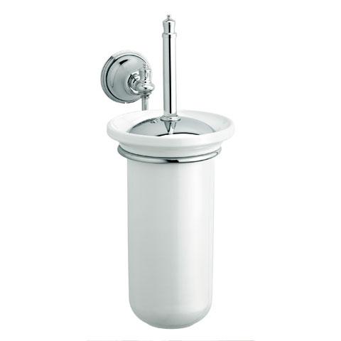Damixa Tradition Toilettenbürstengarnitur chrom