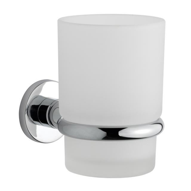 Damixa Serie 48 Zahnputzbehälter mit Wandhalter chrom