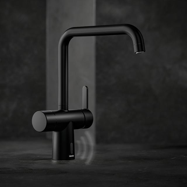 Damixa Silhouet Touchless Elektronische Küchenarmatur schwarz matt