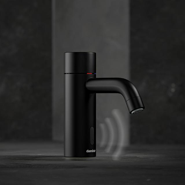 Damixa Silhouet Touchless Elektronische Waschtischarmatur schwarz matt