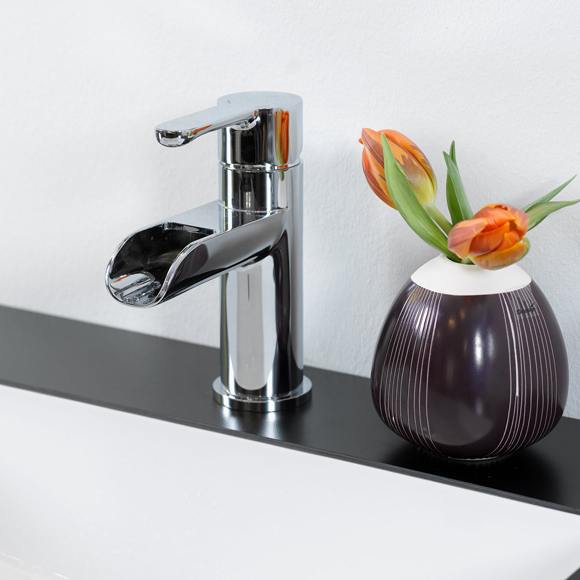 damixa willow waschtischarmatur mit schwallauslauf mit. Black Bedroom Furniture Sets. Home Design Ideas