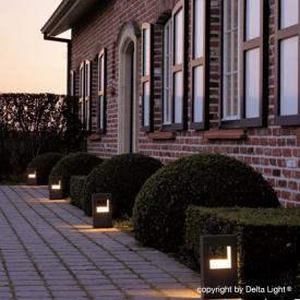 Delta Light Walker LED Sockelleuchte inkl. Cbox
