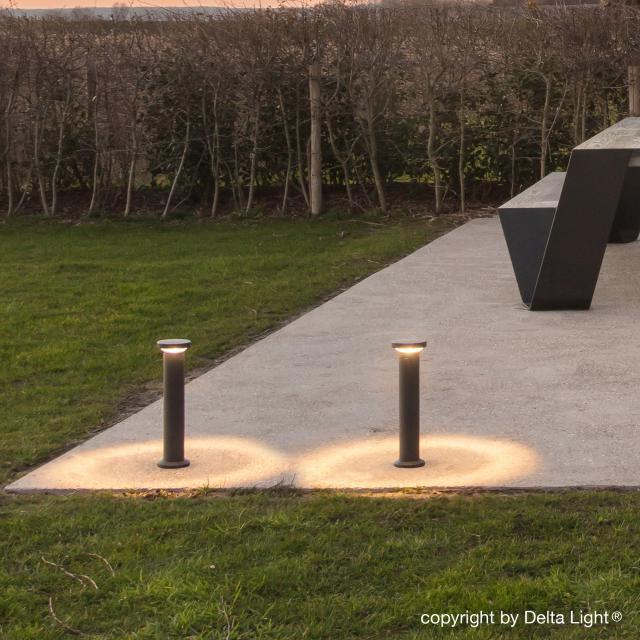 DELTA LIGHT Spyker II Centric LED Pollerleuchte