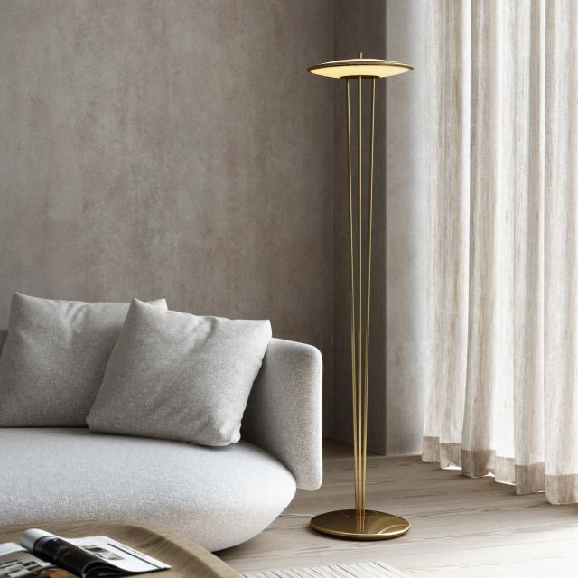 design for the people Blanche LED Stehleuchte mit Dimmer