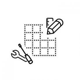 Hüppe Aufmaß und Montage Eckeinbau, Viertelkreis, Fünfeck Breite bis 100 cm