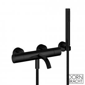 Dornbracht Meta Wannen-Thermostat für Wandmontage, mit Schlauchbrausegarnitur schwarz matt