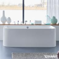 Duravit Happy D.2 Badewanne Vorwandversion L: 180 B: 80 H: 48 cm