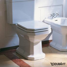 Duravit 1930 Stand-Tiefspül-WC für Kombination weiß, mit WonderGliss, Abgang waagerecht