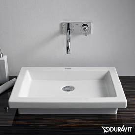 Duravit 2nd Floor Aufsatzbecken weiß