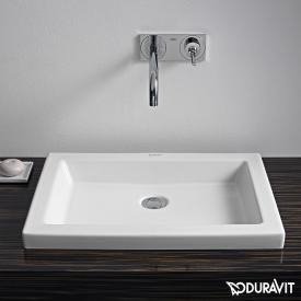 Duravit 2nd Floor Einbauwaschtisch weiß, mit WonderGliss
