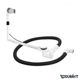 Duravit Ab- und Überlaufgarnitur Quadroval, mit Wanneneinlauf, Komplett-Set