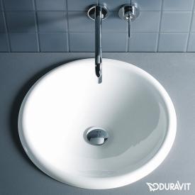 Duravit Architec Einbau-Waschtisch, Einbau von oben weiß, ohne  Hahnloch, ohne Überlauf