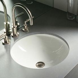 Duravit Architec Unterbau-Waschtisch, unten glasiert weiß, ohne  Hahnloch, ohne Überlauf