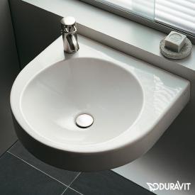 Duravit Architec Waschtisch weiß, mit Hahnloch links, ohne Überlauf