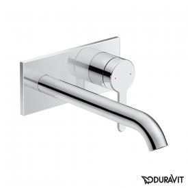 Duravit C.1 Einhebel-Waschtischmischer Unterputz chrom, Ausladung: 225 mm