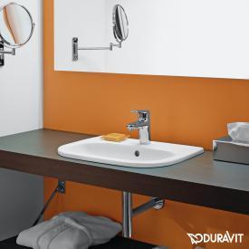 Duravit D-Code Einbauwaschtisch weiß, mit 1 Hahnloch