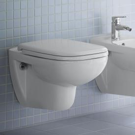 Duravit D-Code Wand-Tiefspül-WC Set, mit WC-Sitz mit Spülrand, weiß, mit HygieneGlaze